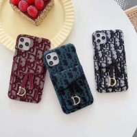 Dior iPhone SE 11 Pro Max / XS MAX / XR / X / 8 7 Plus Back Wallet Case Cover