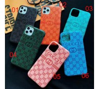 GG Luxury embossed iphone case cover