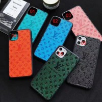 LV iPhone Case Embossed Cover