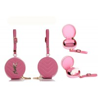 Y-S-L Style AirPods Pro & Airpods 2 Case Mini Bag Case Pink