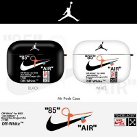 OFF WHITE JORDAN Airpods Cover Protective Case