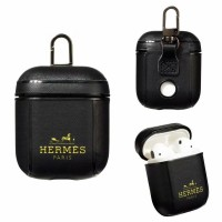 Hermes AirPods 2 / 1 Case Charging Protective Cover Black