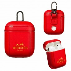 Hermes AirPods 2 / 1 Case Charging Protective Cover Red