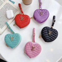 LV AirPods Carrying Bag Case Love Style Design