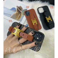 Celine iPhone Case Wristband Stand Cover
