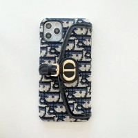 CD Dior Saddle iPhone Pro Max Wallet Case