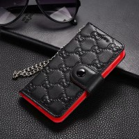 Guc iPhone Wallet Case Genuine Leather Napa Pattern
