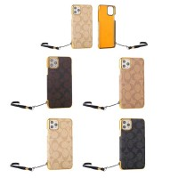 Coach Style iPhone Case Back Cover- 4 Colors