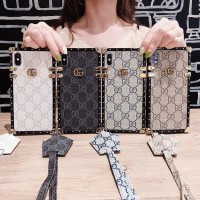 Luxury GG Eye Trunk Style Phone Case Soft Cover For iPhone