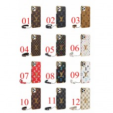 Classic LV Style iPhone Case Back Cover -12 Colors
