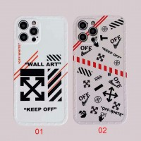 OFF-White Phone Case Back Cover For iPhone