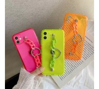 iPhone Hand Chain Love Case Cover